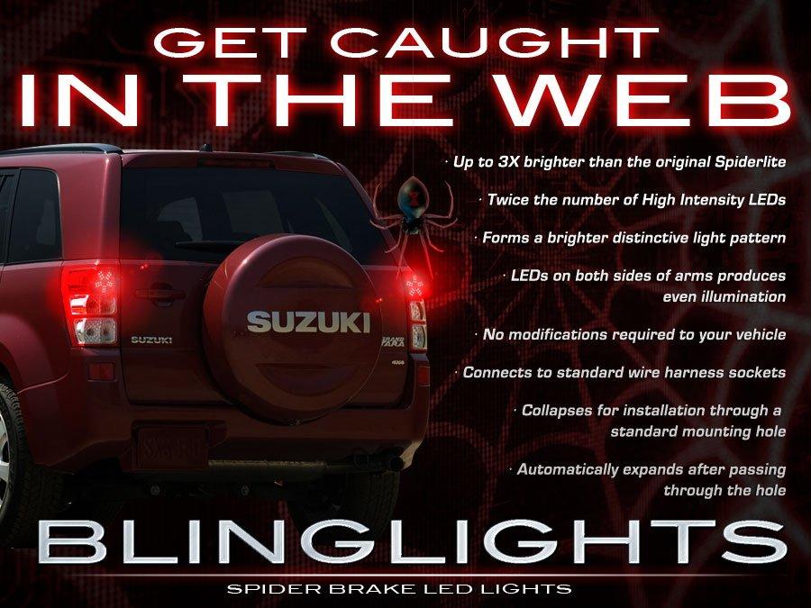 Suzuki XL7 XL-7 Custom LED Light Bulbs Set for Taillamps Taillights Tail Lamps Lights