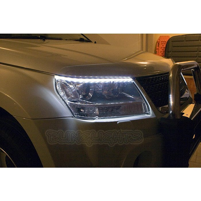 Chevrolet Chevy Tracker LED DRL Light Strips Headlamps Headlights Head Lamps Day Time Running Lights