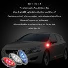 Volvo V60 LED Side Markers Turnsignals Lights Accents Turn Signals Lamps LEDs Signalers Set