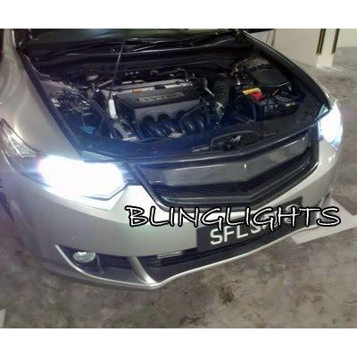 Honda Accord Euro HID Head Lamp Replacement Light Bulbs Pair Xenon Set