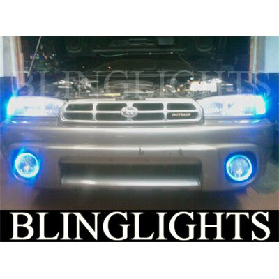 1995 1996 1997 1998 1999 Subaru Outback Halo Foglamps Angel Eye Fog Lamps Driving Lights Kit