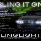 Dodge Avenger LED DRL Strip Lights for Headlamps Headlights Head Lamps LEDs Light Strips DRLs