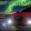 2011 2012 2013 Audi A3 Xenon Foglamps Foglights Fog Lamps Driving Lights Drivinglights Kit