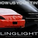 Toyota Solara Tint Smoke Overlays Protection Film for Taillamps Taillights Tail Lamps Lights
