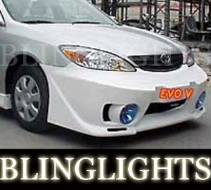 2002 2003 2004 2005 2006 Toyota Camry Junbug Body Kit Fog Lamps Bumper Foglamps Driving Lights