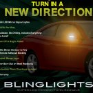 1999-2008 Toyota Solara Side View Mirror LED Turnsignals Lights Mirrors Turn Signals Lamps Signalers