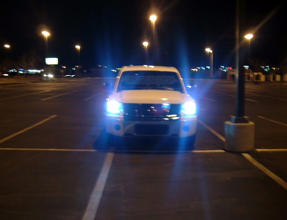 Nissan Titan Headlamp Xenon HID Kit Headlight Conversion