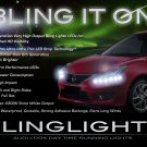 Nissan Tiida LED DRL Head Lamp Light Strips Day Time Running Kit