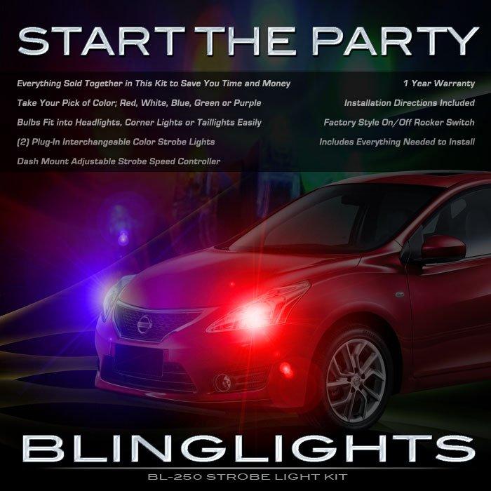 Nissan Tiida Head and Tail Lamps Xenon Strobe Light Kit