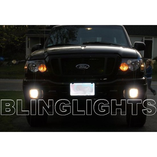 2004 2005 Ford Ranger Halo Fog Lamps Angel Eye Driving Lights Foglamps Foglights Kit