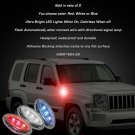 Jeep Liberty LED Side Marker Turnsignals Lights Turn Signalers Accent Lamps Signal Markers Blinkers