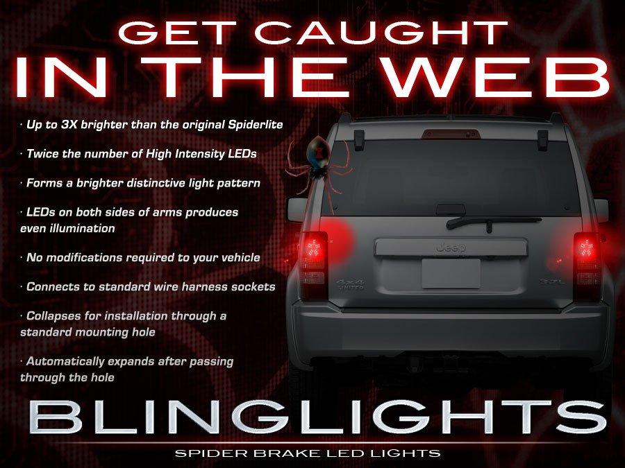 Jeep Liberty KJ KK Custom LED Light Bulbs for Taillamps Taillights Tail Lamps Lights