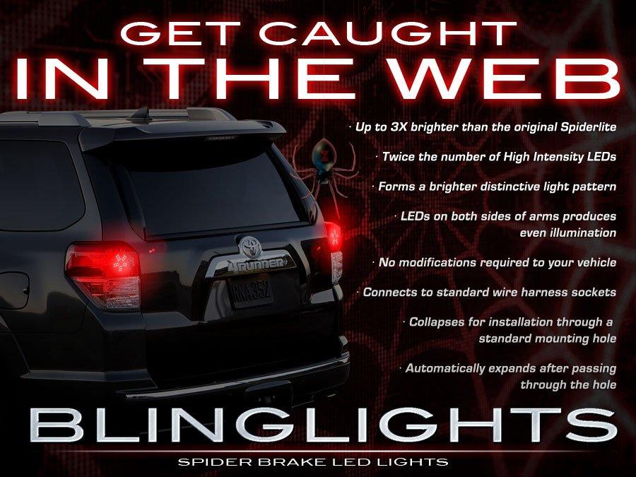 Toyota 4Runner Tail Lamp White LED Spider Light Bulbs