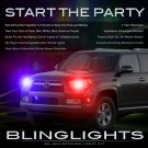 Toyota 4Runner Police Strobe Light Kit for Headlamps Headlights Head Lamps Strobes Lights