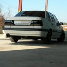 Volvo 850 Tinted Smoked Taillamps Taillights Overlays Film 1993 1994 1995 1996 1997