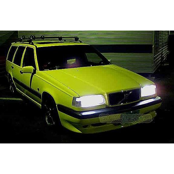 1993-1997 Volvo 850 Bright White Upgrade Light Bulbs for Headlamps Headlights Head Lamps Lights