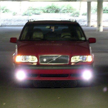 1995 1996 1997 Volvo 850 T5R T5-R T5 R Xenon Fog Lamps Driving Lights Foglamps Foglights Kit