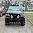 Ford Sport Trac Big Off Road Auxilliary Driving Lights Lamp Bar Offroad Bumper Aux Lamps Kit