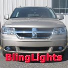 2009 2010 Dodge Journey Fog Lamps Driving Lights Kit