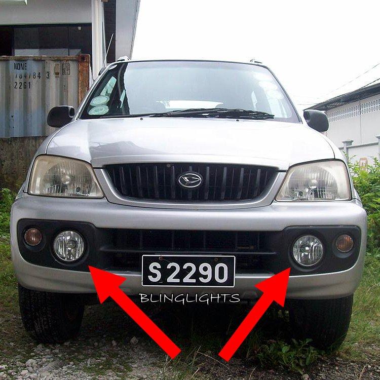 2000 2001 2002 2003 2004 2005 Daihatsu Terios Xenon Fog Lamps Driving Lights Foglamps Foglights Kit