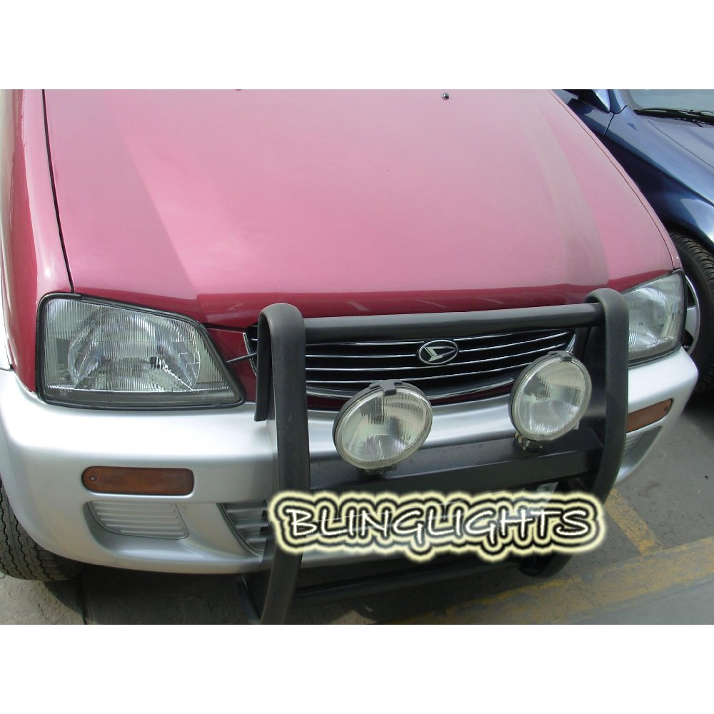 Toyota Cami Rush Off Road Auxiliary Driving Lights Offroad Bumper Brush Nudge Light Bar Lamps Kit