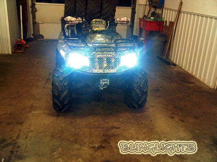 Arctic Cat ATV Prowler Xenon HID Light Conversion Kit for Headlamps Headlights Head Lamps Lights