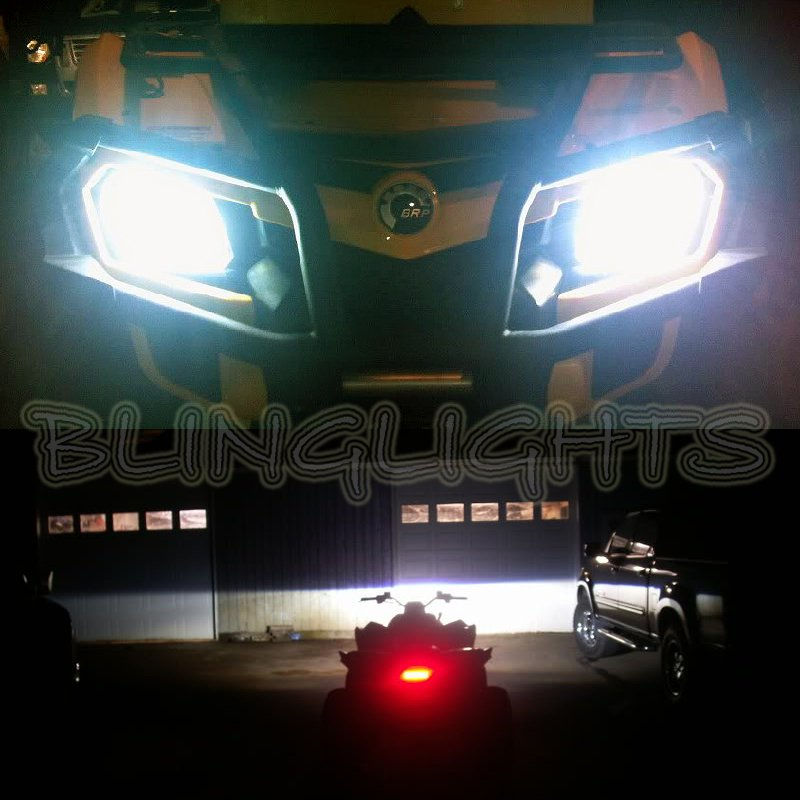 Can-Am Outlander Renegate ATV Xenon HID Light Conversion Kit Headlamps Headlights Head Lamps Lights