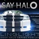 2008 2009 2010 Dodge Avenger Fog Lamp Driving Light Kit Halo Angel Eyes