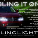 Dodge Journey LED DRL Head Light Strips Day Time Running Lamp Kit