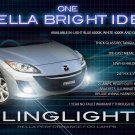 2009 2010 2011 Mazda3 Maxx Sport BL Fog Lamps Light Kit Xenon Drivinglights