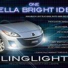 2009 2010 2011 Mazda3 Maxx Sport BL Fog Lamps Light Kit Xenon Drivinglights