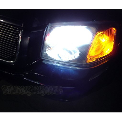 GMC Envoy Bright White Replacement Light Bulbs for Headlamps Headlights Head Lamps Lights