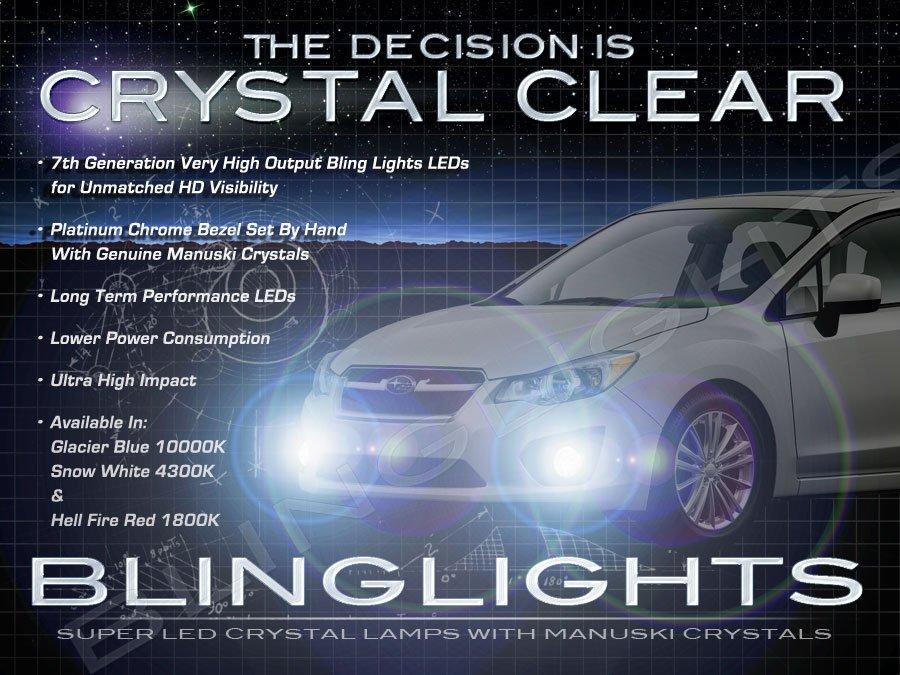 2012 2013 2014 Subaru Impreza & WRX LED Fog Lamps Driving Lights Kit