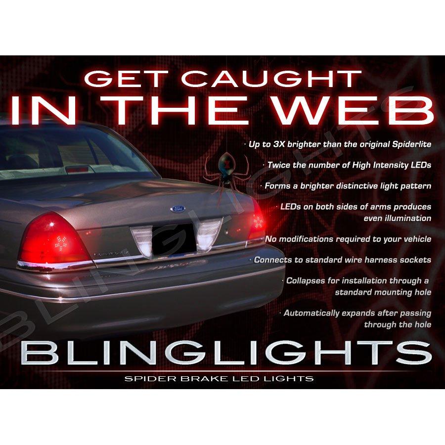 2003 2004 Mercury Marauder Custom LED Light Bulbs for Taillamps Taillights Tail Lamps Lights