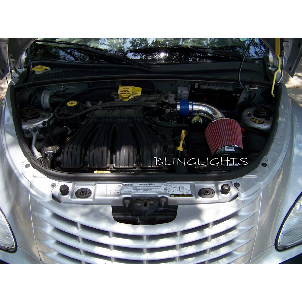 2001-2010 Chrysler PT Cruiser EDZ I4 2.4L Performance Air Intake 2.4 L Motor Engine Kit Carbon Fiber