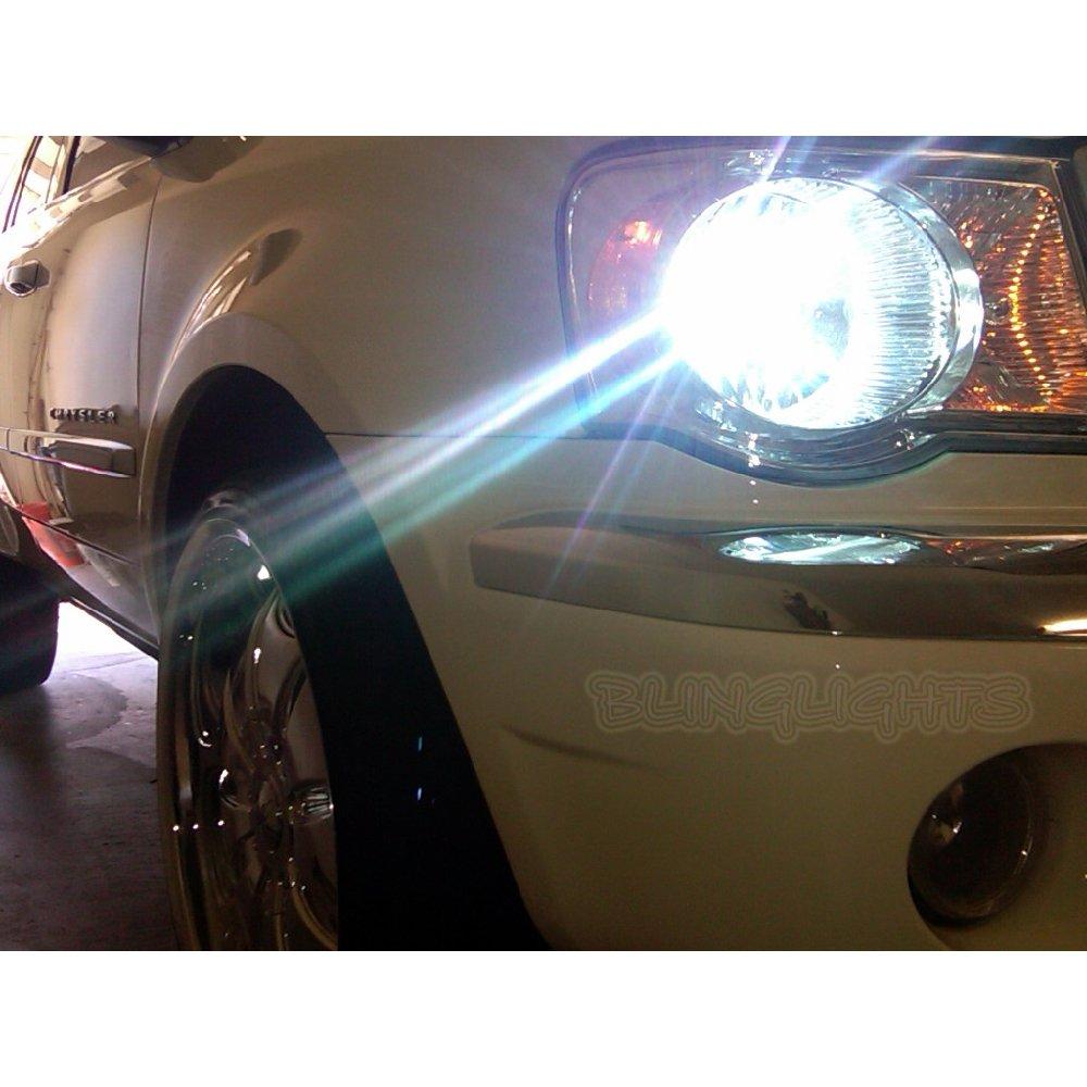 2007 2008 2009 Chrysler Aspen Bright White Light Bulbs for Headlamps Headlights Head Lamps Lights