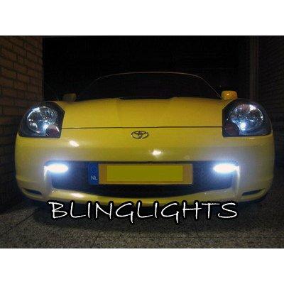2000 2001 2002 2003 2004 2005 2006 2007 Toyota MR2 Spyder Xenon Fog Lamps Driving Lights Foglamp Kit