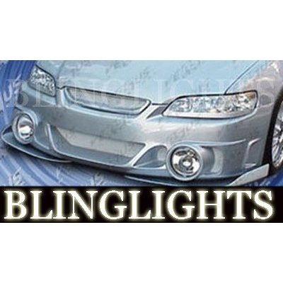 1994-2002 Honda Accord AIT VIS Racing Evo Style Body Kit Fog Lamps Bumper Driving Lights Foglamps