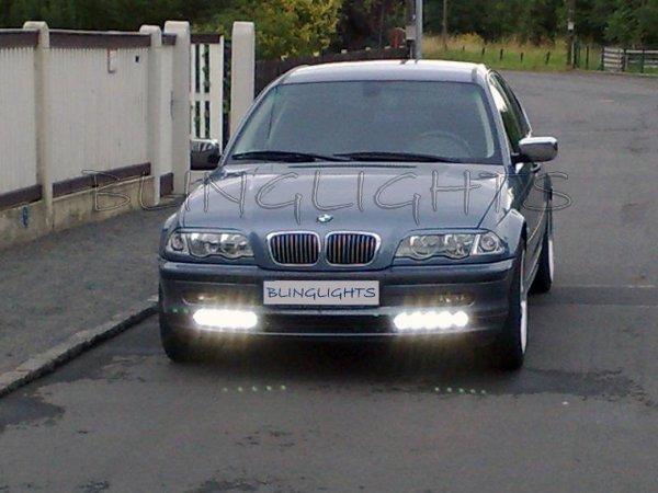 1998 1999 2000 BMW 323i 323Ci LEDs DRLs Strips for Headlamps Headlights Head Lamps Lights