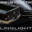 2009-2012 Dodge Ram Tinted Tail Lamp Light Overlays Kit Smoked Film Protection