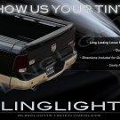2009-2012 Dodge Ram Tinted Tail Lamp Light Overlays Kit Smoked Film Protection