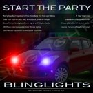 Suzuki Swift Police Strobe Light Kit for Headlamps Headlights Head Lamps Lights Strobes