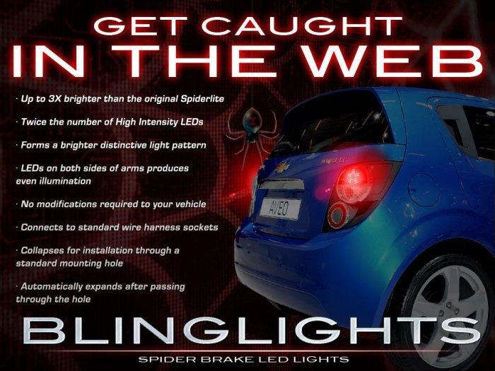 blinglights 2009 2010 Pontiac G3 Wave Custom LED Light Bulbs for Tail Lights LEDs