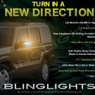 2006 2007 2008 2009 2010 Jeep Commander LED Side Mirrors Turnsignals Lights Turn Signals Signalers