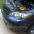 Mazda MPV LED DRL Light Strips Day Time Running Lights Headlamps Headlights Head Lamps Strip DRLs