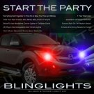 Mazda BT-50 BT50 Strobe Police Light Kit for Headlamps Headlights Head Lamps Lights Strobes