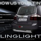 Chevrolet Chevy Orlando Smoked Tinted Protection Overlays for Taillamps Taillights Tail Lamps Lights