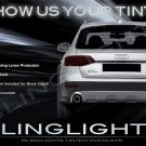 Audi A4 Allroad Quattro Avant Tinted Smoked Taillamps Taillights Protecion Overlays Film