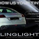 Audi TT TTS Murdered Out Tail Light Lamp Overlays Tinted Lense Film Kit