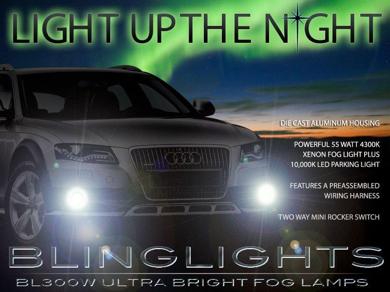 2009 2010 2011 2012 Audi A4 Xenon Fog Lamps Driving Lights B8 Foglamps Foglights Kit